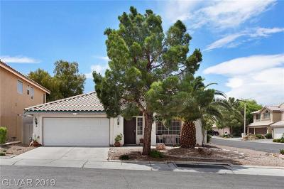 Las Vegas Single Family Home For Sale: 2421 Honeybee Meadow Way