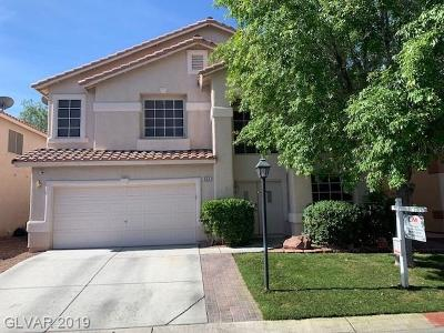 Las Vegas Single Family Home For Sale: 355 Jolly January Avenue