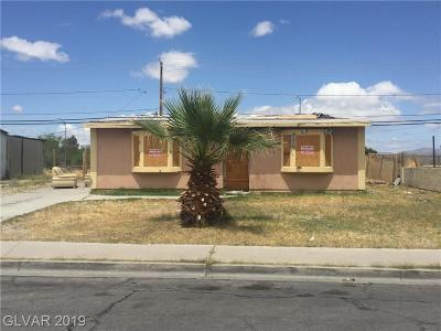 Las Vegas Single Family Home Under Contract - No Show: 600 Kasper Avenue