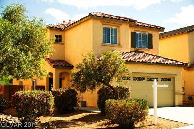 North Las Vegas Single Family Home For Sale: 65 Rosa Rosales Court