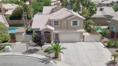 Henderson Single Family Home For Sale: 1309 Silver Reef Court