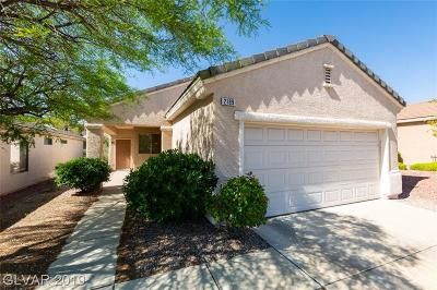Henderson Single Family Home For Sale: 2189 Tiger Links Drive
