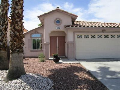 Las Vegas Single Family Home For Sale: 9857 Pioneer Avenue