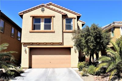 Las Vegas Single Family Home For Sale: 306 Fringe Ruff Drive