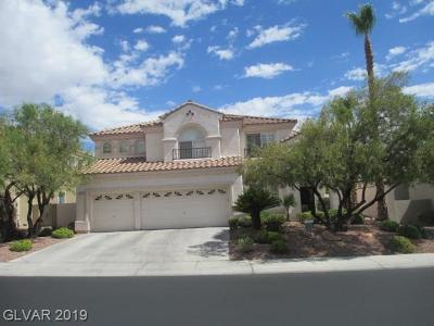 Las Vegas Single Family Home For Sale: 8528 Chiquita Drive