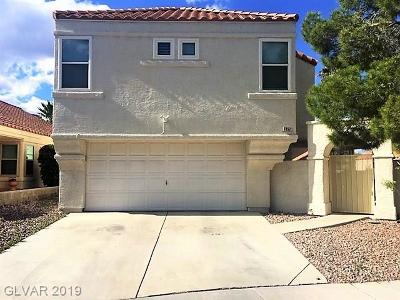 Las Vegas Single Family Home For Sale: 7852 Mt Whitney Circle