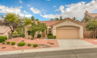 Las Vegas Single Family Home For Sale: 2828 Faiss Drive