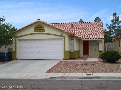 Single Family Home For Sale: 8451 Green Mesa Court
