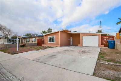 North Las Vegas NV Single Family Home For Sale: $195,000