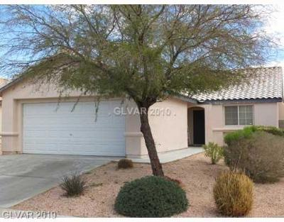 North Las Vegas Single Family Home For Sale: 3324 Strawberry Roan Road