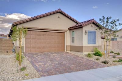 Clark County Single Family Home For Sale: 6236 Supernova Hill Street