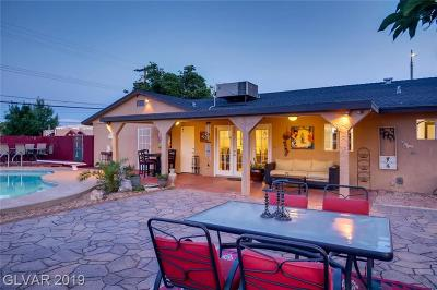 Las Vegas Single Family Home For Sale: 7664 Lone Mountain Road