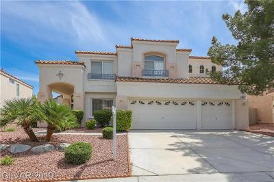 Las Vegas Single Family Home For Sale: 8525 Estrelita Drive
