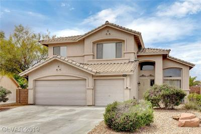 Las Vegas Single Family Home For Sale: 5405 Tourmaline Street