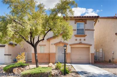 Las Vegas Single Family Home Under Contract - No Show: 8821 First Lady Avenue