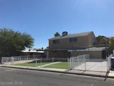Las Vegas Single Family Home For Sale: 2205 East McWilliams Avenue