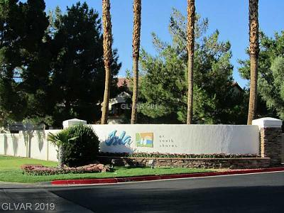 Las Vegas Condo/Townhouse For Sale: 2111 Sealion Drive #206