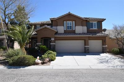 Las Vegas, Henderson Single Family Home For Sale: 3586 Fair Bluff Street