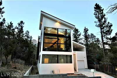 Mount Charleston NV Single Family Home For Sale: $975,000