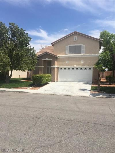 North Las Vegas Single Family Home For Sale: 3937 Rain Flower Lane