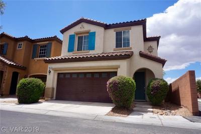 Clark County Single Family Home For Sale: 10521 El Cerrito Chico Street