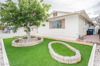 Las Vegas Single Family Home For Sale: 5063 Morris Street