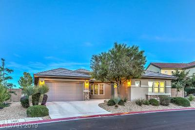 North Las Vegas Single Family Home Under Contract - No Show: 7416 Redbreast Court