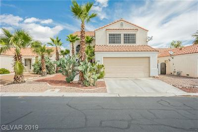 Las Vegas Single Family Home For Sale: 7912 Painted Rock Lane