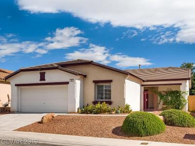 North Las Vegas Single Family Home For Sale: 1805 Lazy Hill Ranch Way