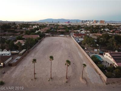 Las Vegas Residential Lots & Land For Sale: 4051 West Warm Springs Road