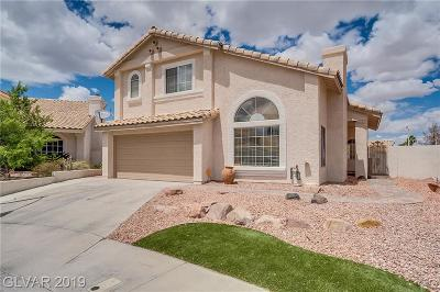 Clark County Single Family Home For Sale: 1409 Rim Fire Circle