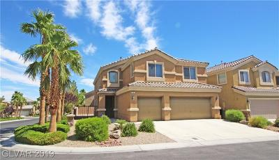 Las Vegas Single Family Home For Sale: 98 Tall Ruff Drive