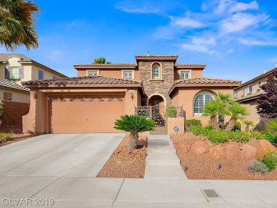 Las Vegas Single Family Home For Sale: 784 Tillis Place