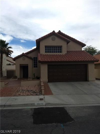 Las Vegas Single Family Home For Sale: 9628 Swan Bay Drive