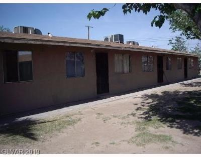 North Las Vegas Multi Family Home Under Contract - No Show: 2514 McCarran Street