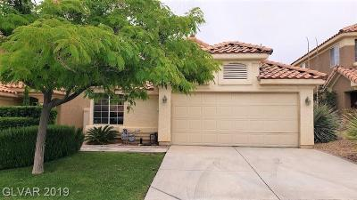 Las Vegas Single Family Home For Sale: 9617 Rancho Palmas Drive