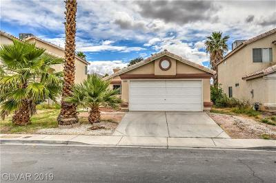 Clark County Single Family Home For Sale: 2194 Brassy Drive