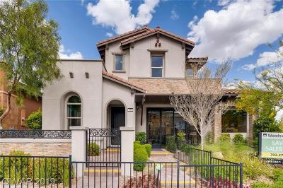 Henderson, Las Vegas Single Family Home For Sale: 246 Castellari Drive
