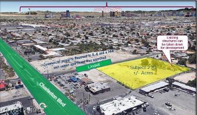 Las Vegas Residential Lots & Land For Sale: 1245 Lindell Road