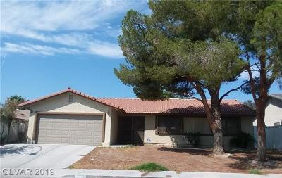 Clark County Single Family Home For Sale: 5271 Rambling Road