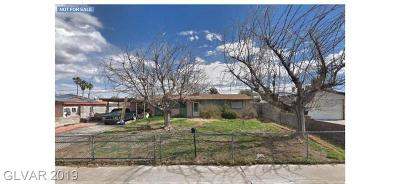 Henderson NV Single Family Home Under Contract - No Show: $110,000