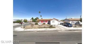 North Las Vegas Single Family Home Under Contract - No Show: 2519 West Avenue