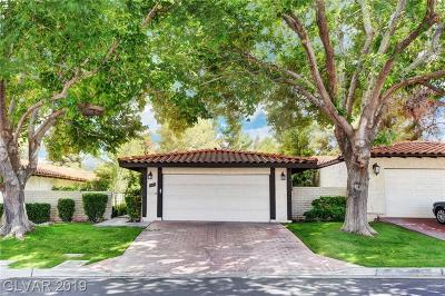 Las Vegas Single Family Home For Sale: 3105 Calle De El Cortez