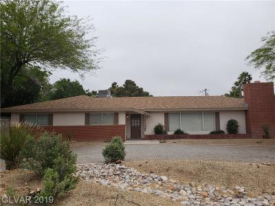 Clark County Single Family Home Under Contract - No Show: 5027 Sawyer Avenue
