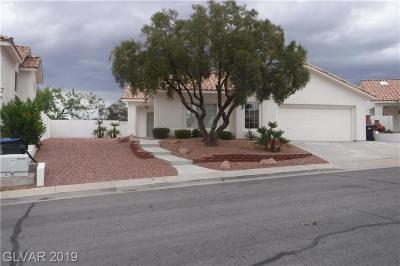 Henderson Single Family Home For Sale: 693 Senator Court
