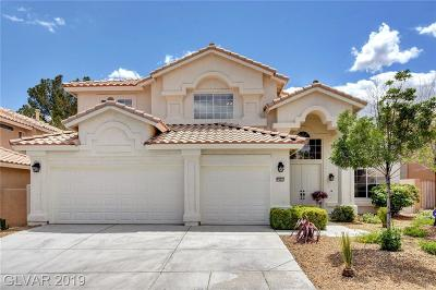 Las Vegas Single Family Home For Sale: 9583 Sedona Hills Court