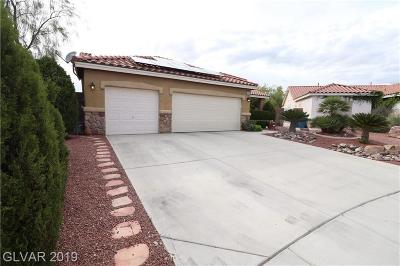 Clark County Single Family Home For Sale: 5821 Lost Valley Street