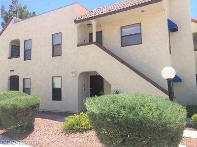 Las Vegas NV Condo/Townhouse For Sale: $150,000