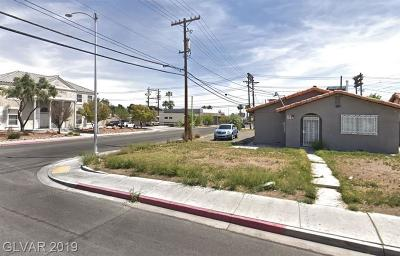Las Vegas Single Family Home For Sale: 703 South 10th