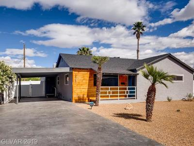 Las Vegas Single Family Home For Sale: 1325 Darmak Drive